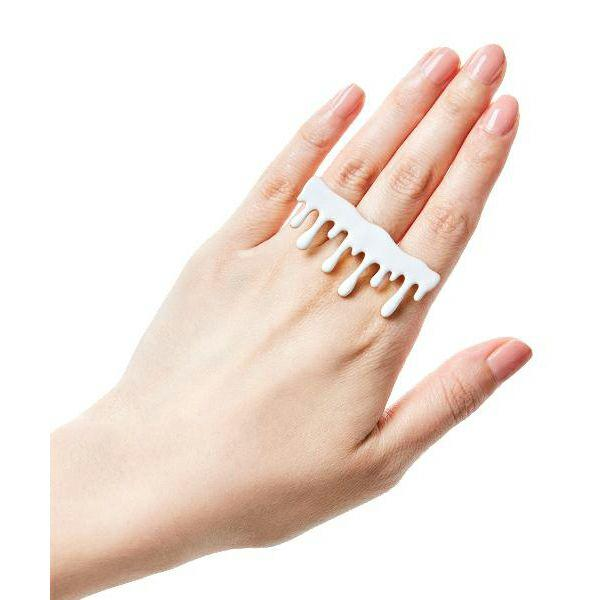 Melty Milk Ring (White)