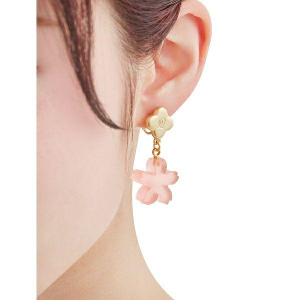 SAKURA YOUKAN Pierced Earrings (Pair)