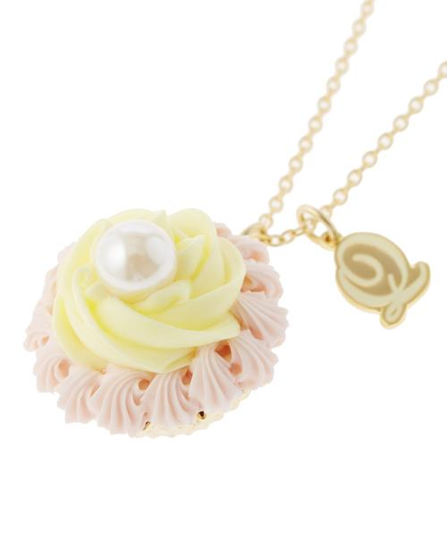 FLORAL Cupcake Marguerite Necklace (Pink)