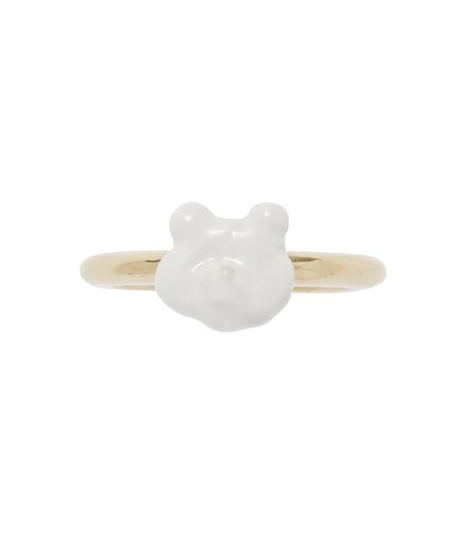 MOKUMOKUMO Bear Clouds Ring