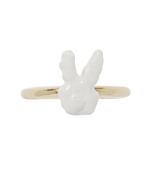 MOKUMOKUMO Rabit Clouds Ring