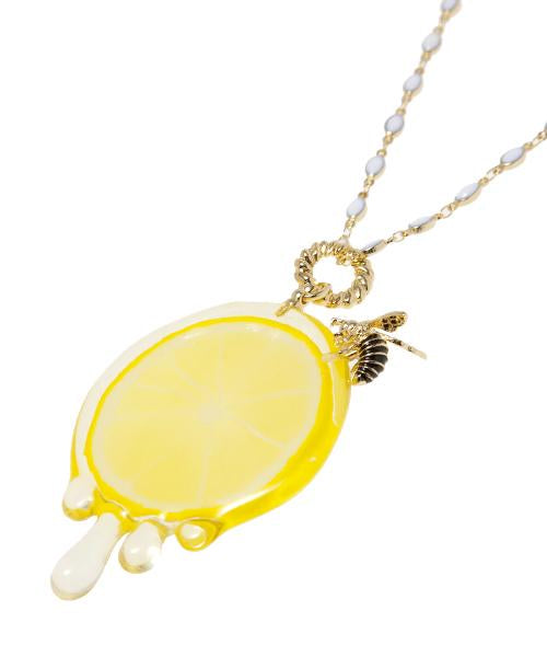Bee & Honey & Lemon Necklace
