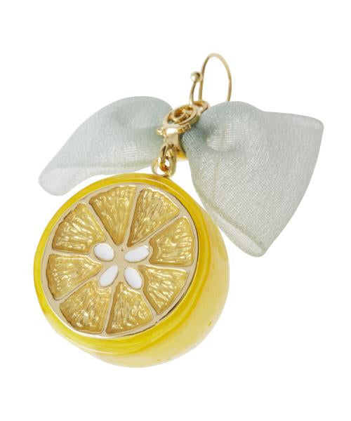 Lemon & Ribbon Pierced Earring (1 Piece)