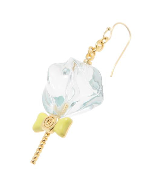 Petit Mizuame Stick Pierced Earring [Blue] (1 Piece)