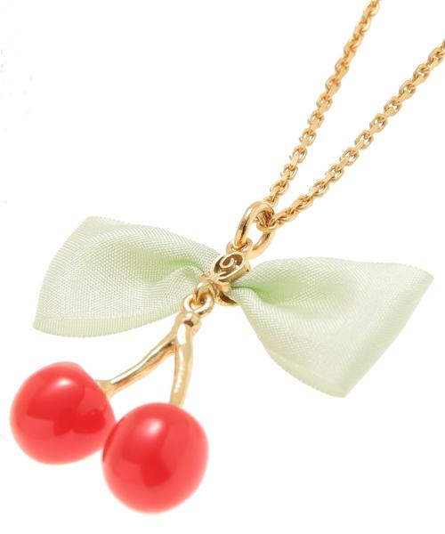 Glace Cherry Necklace