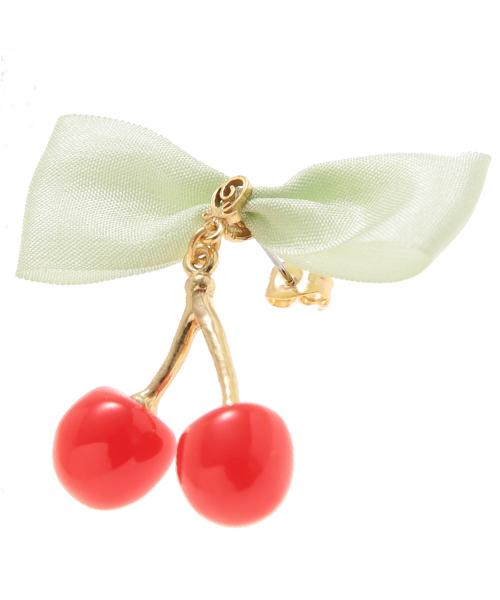 Glace Cherry Pierced Earring (1 Piece)