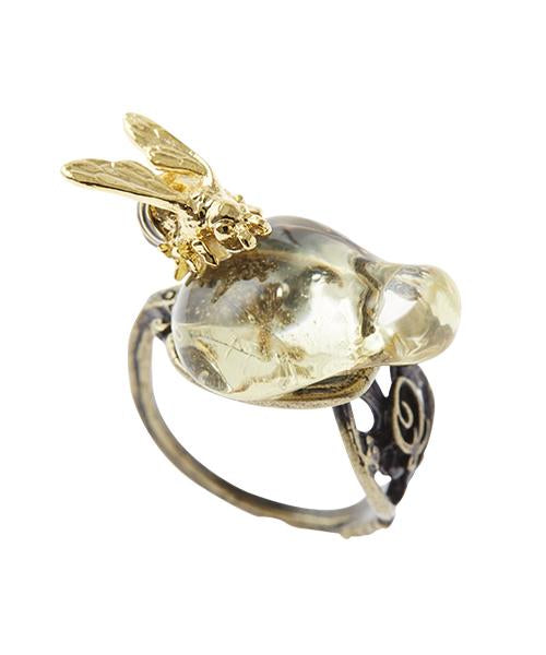 【Special Package】Honey & Bee Spoon Ring
