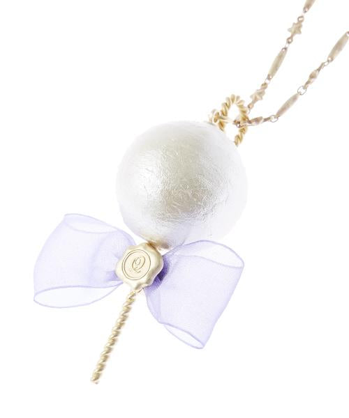 Cotton Candy Necklace (White)