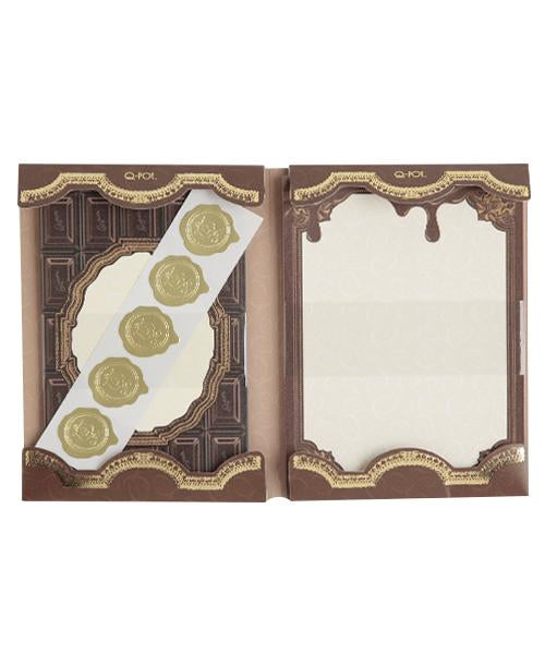 Sweet Chocolate Letter Set