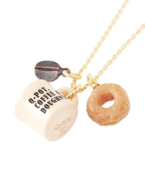 Coffee & Doughnut Necklace