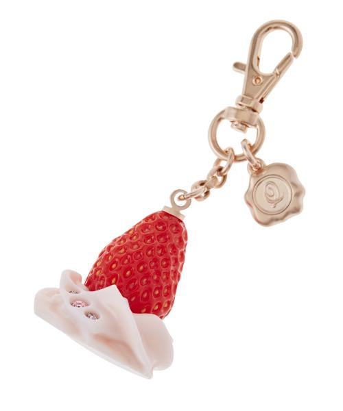 【Online Limited】Fresh Strawberry Bag Charm (Pink)