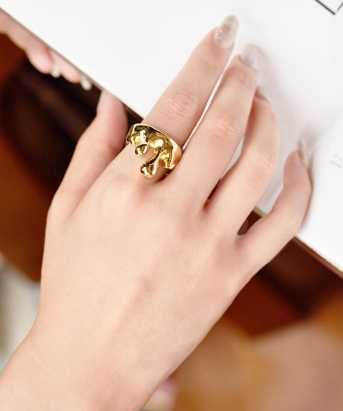 Melt Ring(Gold)