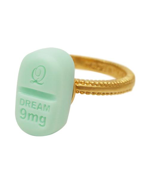 Dream Tablet Ring (Mint Green)