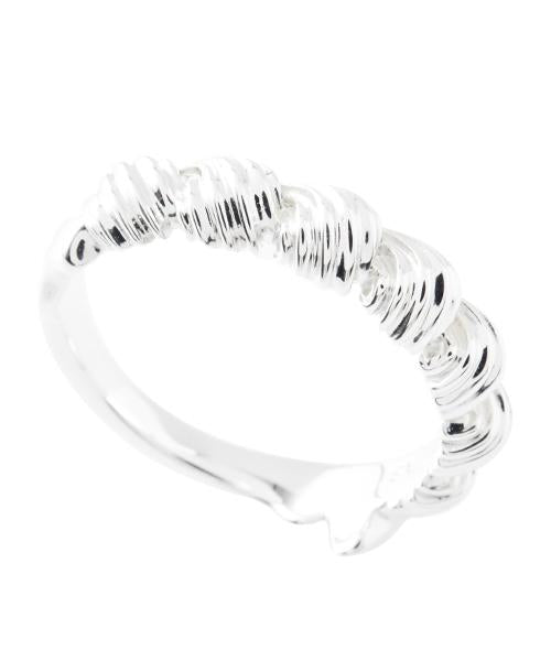 【Silver925】Whipped Cream Round Ring