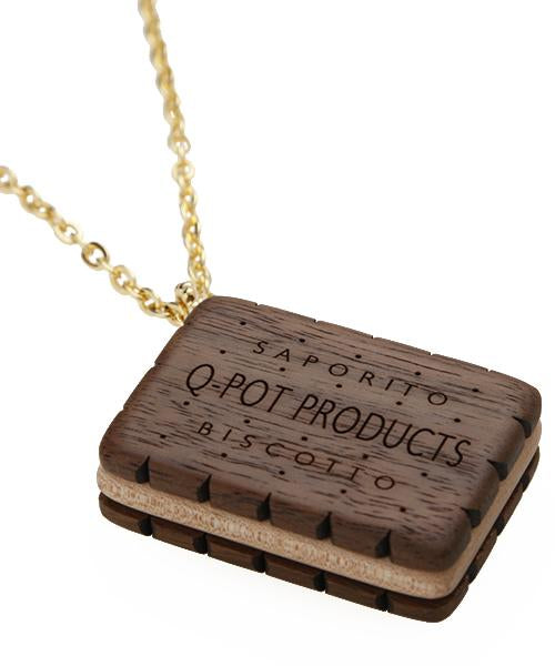 Biscuit Necklace (Brown)