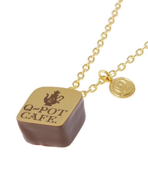Q-pot CAFE. W pot Chocolat Necklace