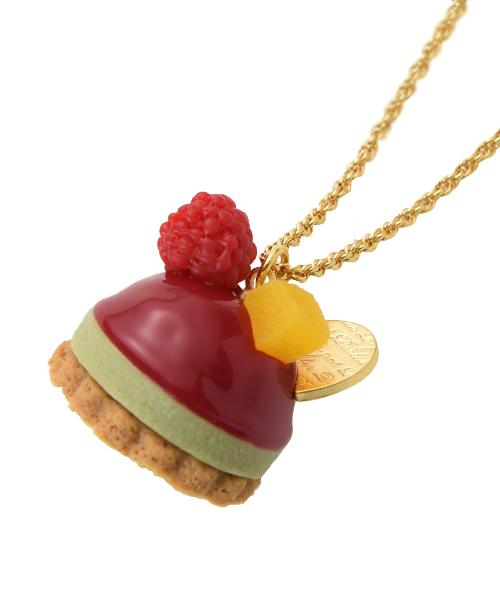 Framboise Petit Cake Necklace