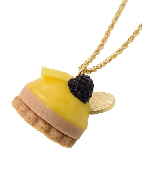 Passion Fruit Petit Cake Necklace