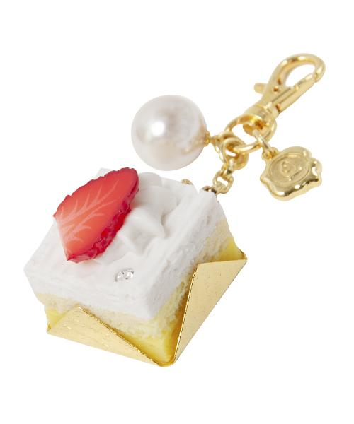 Strawberry Petit Cake Bag Charm