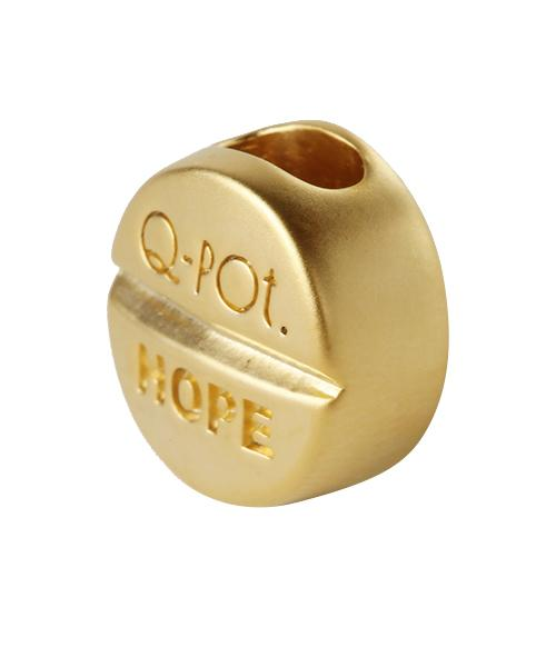 Hopeless Golden Tablet Charm