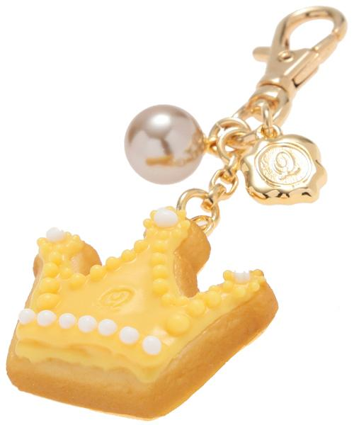 Crown Sugar Cookie Bag Charm (Yellow)