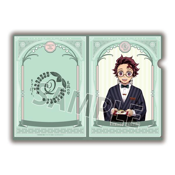 "※Delivery For CHINA and KOREA※【PRE-ORDER】""Demon Slayer: Kimetsu no Yaiba×Q-pot."" Clear File [Tanjiro]"