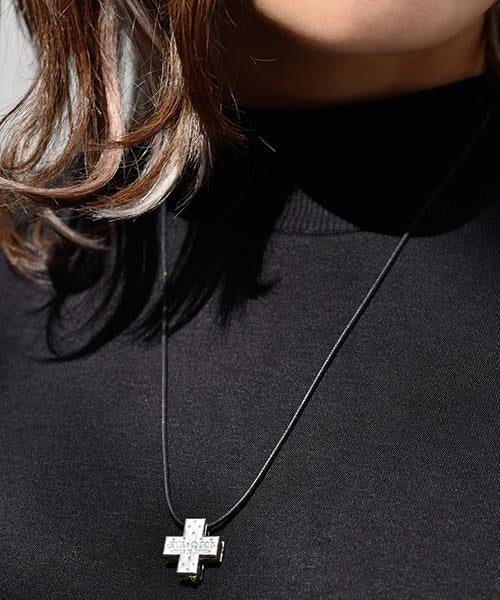 【PRE-ORDER3】Misato Biscuit Cross Necklace