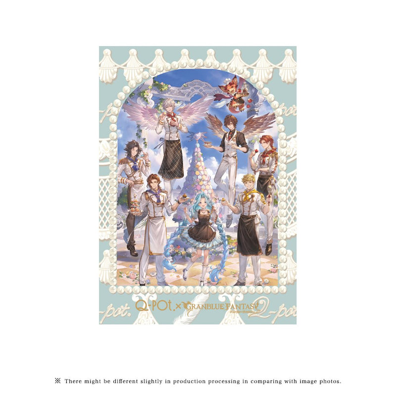 "【PRE-ORDER】""Q-pot.×Granblue Fantasy"" Postcard Set (8 Pieces)"