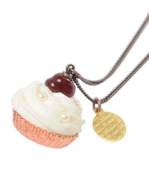 Cherry Cupcake Necklace