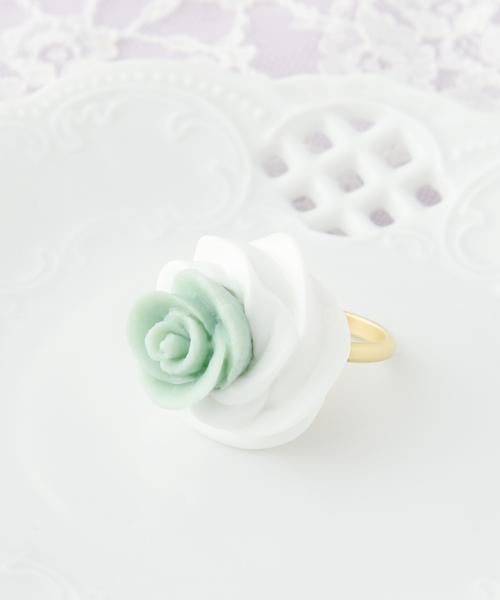 Classic Rose Whipped Cream Ring Mint