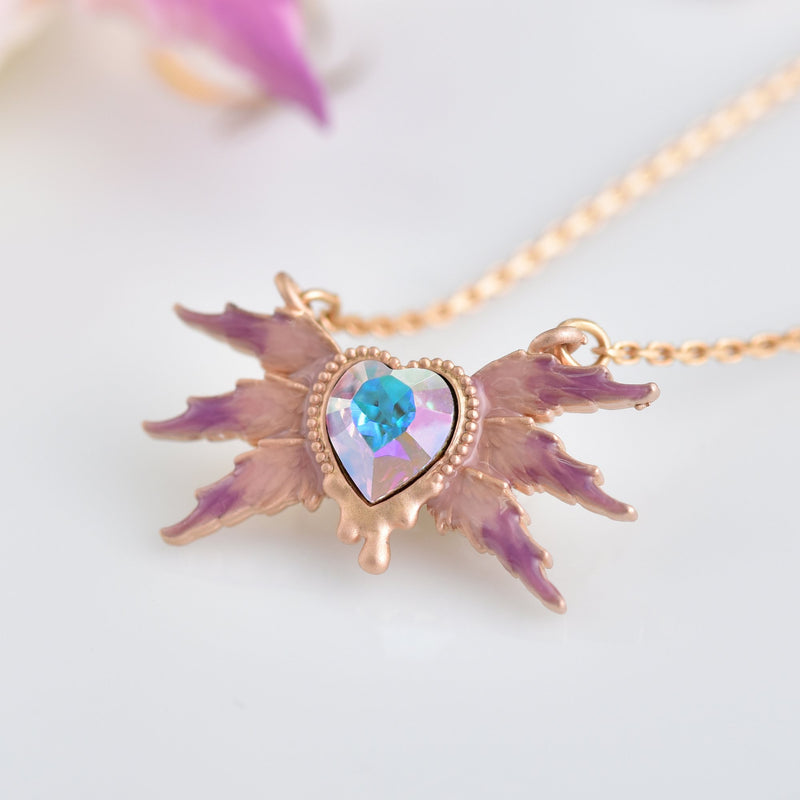 Lucifer Melty Heart Candy Necklace