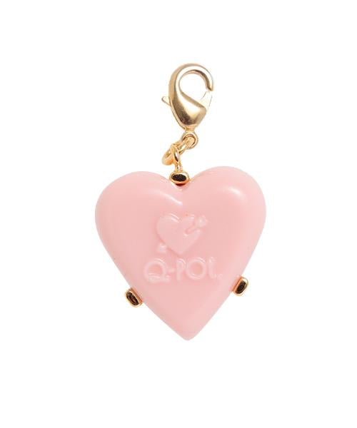 Arrow Heart Strawberry Chocolate Charm