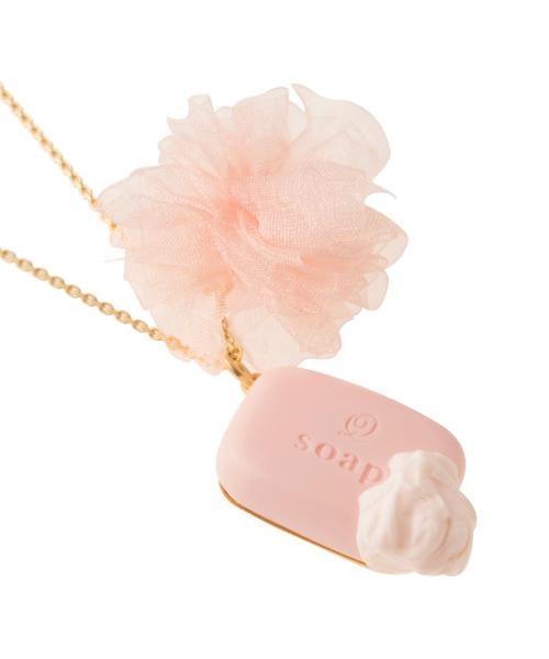 Creamy Soap Necklace (Pink)