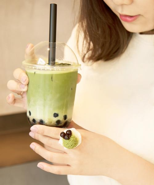 【Online Limited】Bubble Matcha Milk Ice Cream Ring