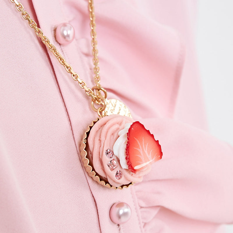 Strawberry Mont Blanc Necklace