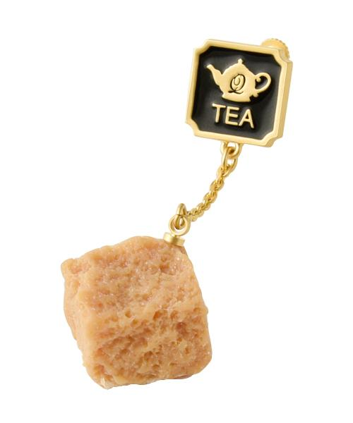 Brown Sugar for Tea Clip-on Earring (1 Piece)
