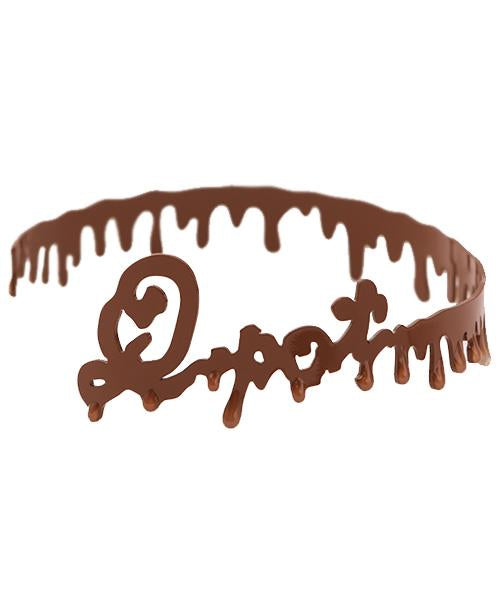 Melty Milk Chocolate Choker (Brown)