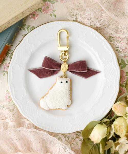 Persian Cat Sugar Cookie Bag Charm