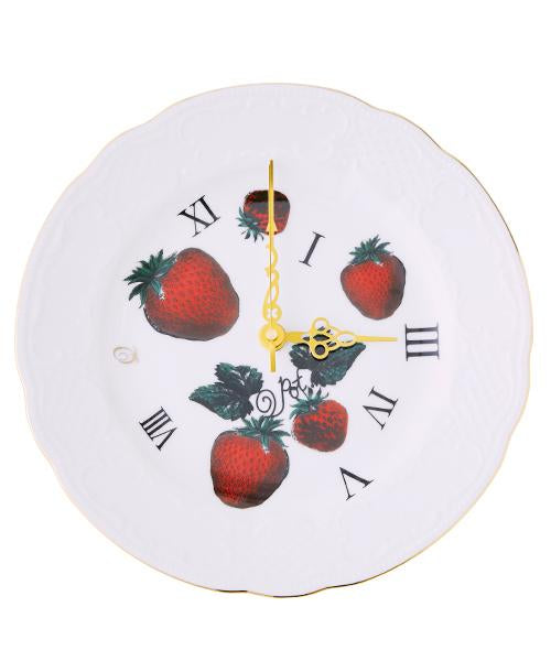 Very Berry Nice to Meet You Wall Clock