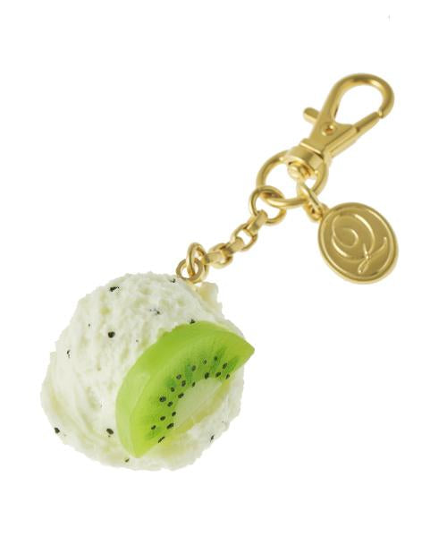 Kiwi Ice Cream Bag Charm