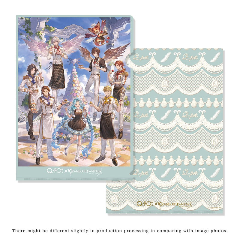 "【PRE-ORDER】""Q-pot.×Granblue Fantasy"" Clear File (A4 Size)"