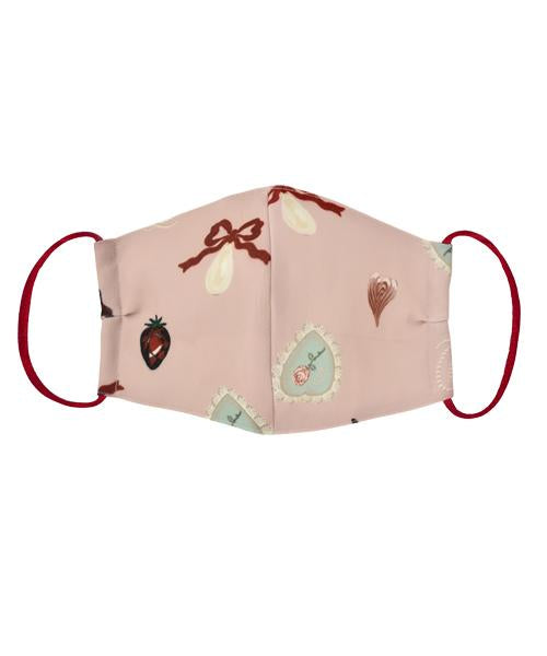【Pre-Order/Mid January 2021 delivery】Mad Sweets Cloth Face Mask(Pink)