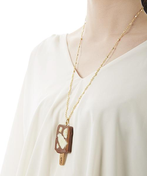 Chocolate Banana Ice Candy Necklace