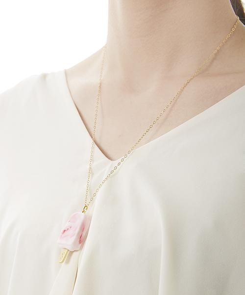 Strawberry Ice Candy Necklace