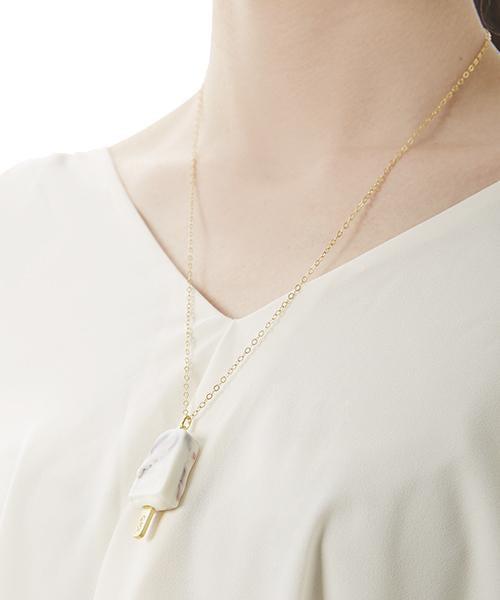 Vanilla & Chocolate Ice Candy Necklace