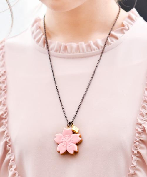 SAKURA Sugar Cookie Necklace