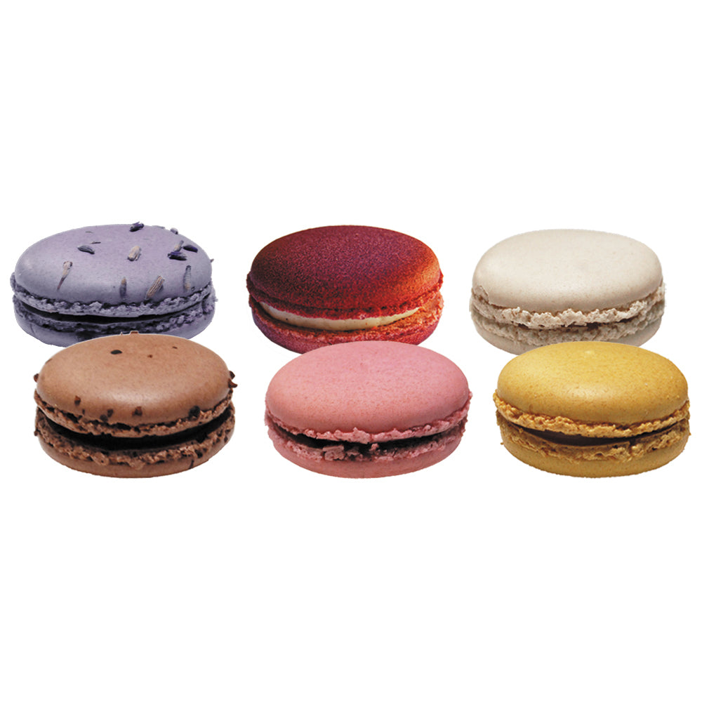 Box of 6 Macarons - Degustation Assortment