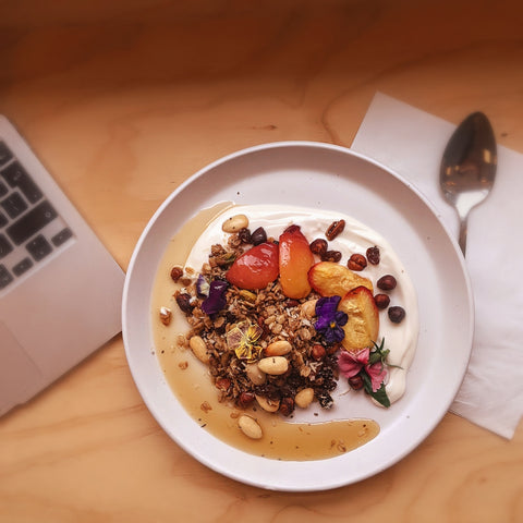 Home-made nutty granola from Store6 Poundbury