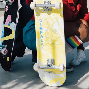 Cosmos Skateboard - Yellow