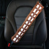 Star Wars Chewbelta Chewbacca Seat Belt Shoulder Cover Pad for Car Handbag